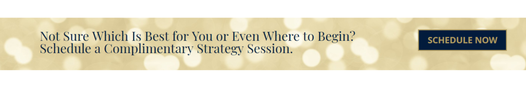 Schedule a complimentary strategy session!